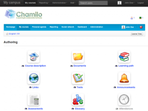 chamilo-course-home1